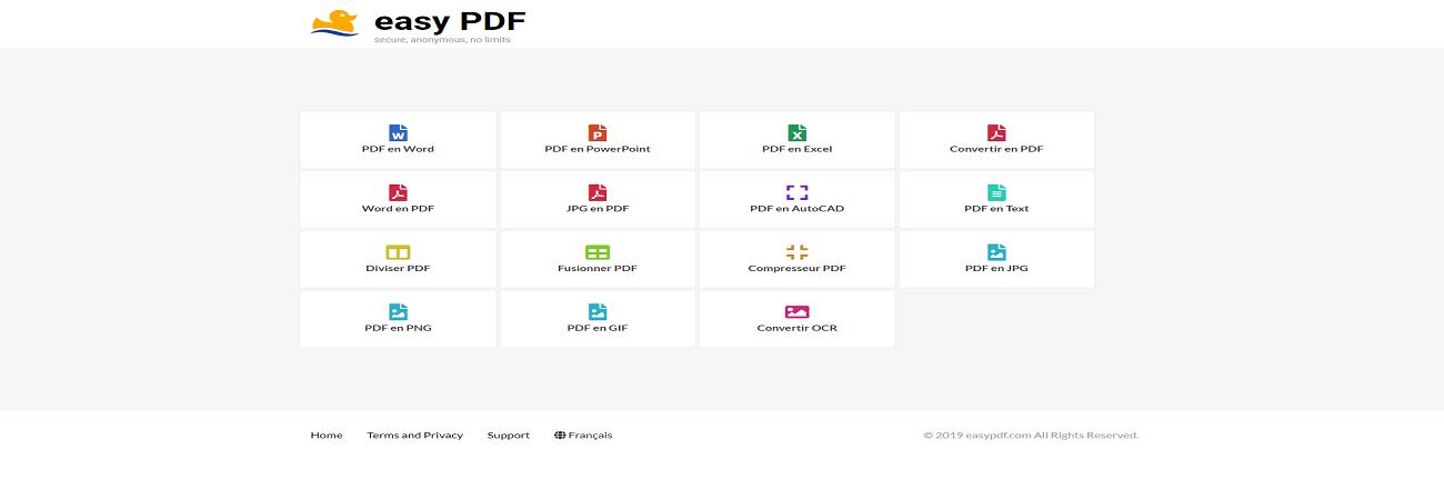 Convertir facilement en PDF