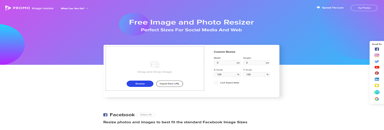 Redimensionner avec Image Resizer