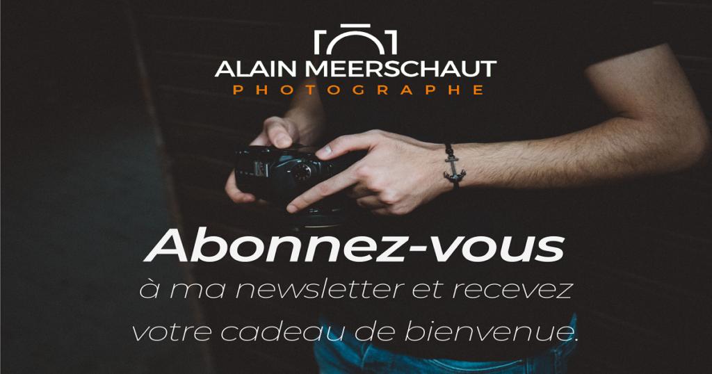 Newsletter Cadeau bienvenue